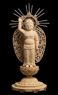 誕生釈迦仏立像